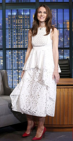 white dress dress keira knightley
