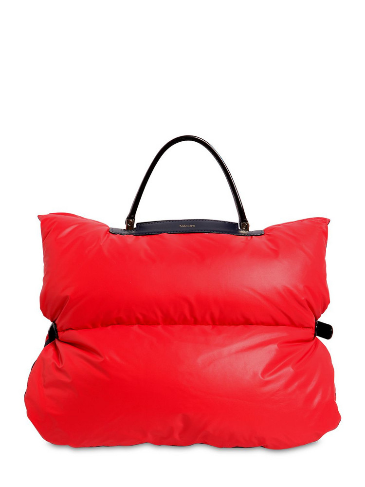 VALEXTRA Reversible Small Nylon Down Bag Cover in red