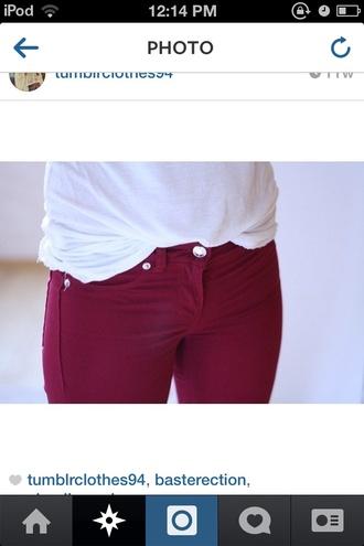 jeans colored leggings