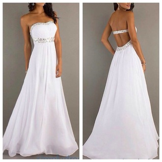dress prom dress prom ivory dress white white dress fashion long prom dress long dress beautiful ball gowns princess wedding dresses princess dress simple wedding dresses jumpsuit
