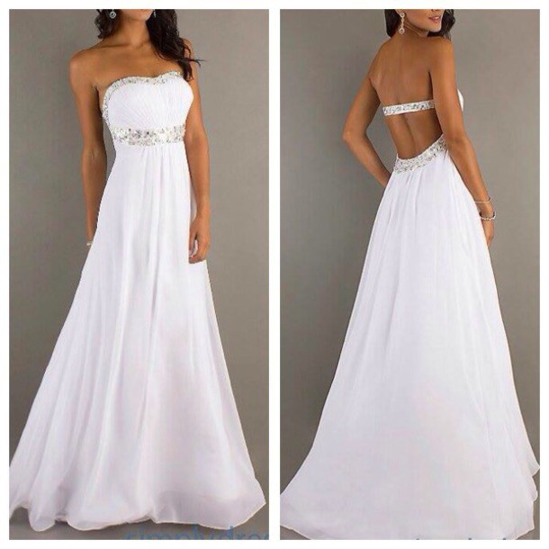 dress prom dress prom ivory dress white white dress fashion long prom dress long dress ball gown dress princess wedding dresses princess dress simple wedding dresses jumpsuit