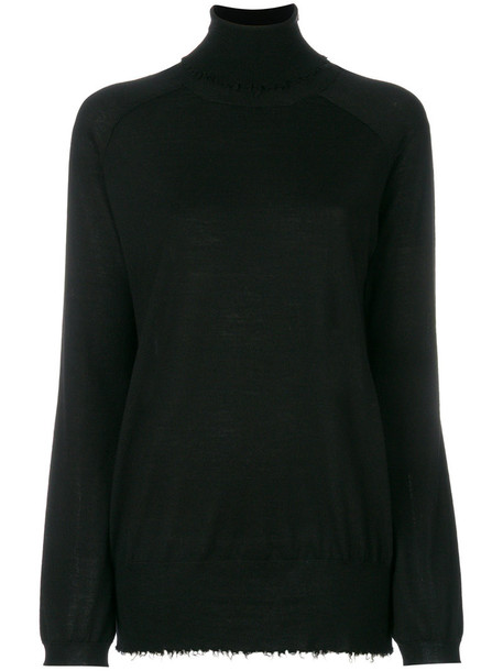 Mauro Grifoni sweater turtleneck turtleneck sweater women black wool
