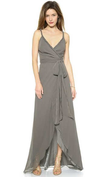 dress wrap dress water smoke