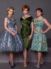 dress,mad men,50s style,vintage,retro,retro dress
