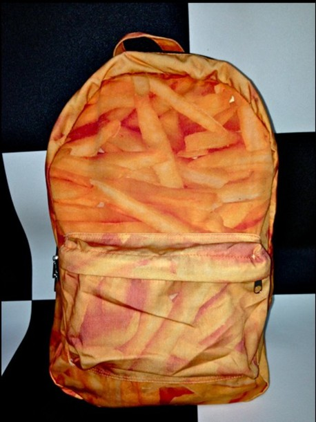 bag fries backpack backpack fries fries