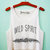 Wild Spirit Crop Tank Top on Wanelo