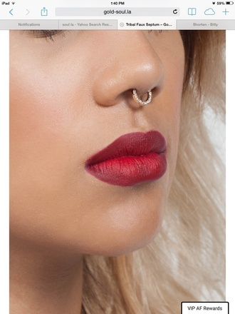 jewels accessories nose ring septums fake septums faux septums