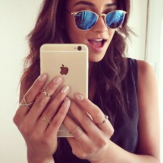 jewels anarchy street shay mitchell pretty little liars x ring cross ring gold ring ring sunglasses
