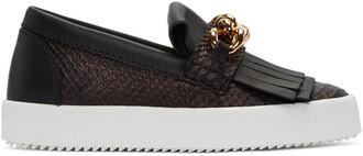 python london sneakers black shoes