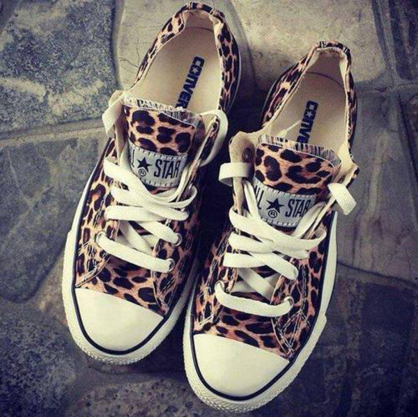 shoes converse leopard print converse shorts