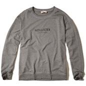 sweater,grey,hollister