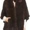 Belle fare genuine mink fur poncho | nordstrom