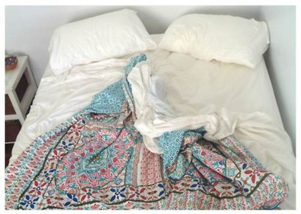Scarf cover hippie love patterns design tribal pattern colorful bedding home accessory - Cute bed sets tumblr ...
