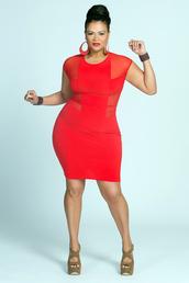 dress,red dress,plus size,regular size,0-1x,0 - 3x,plus size dress