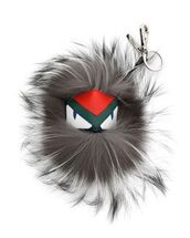 bag,bag charm,charm,fluffy,monster,fendi,keychain,fur keychain,fuzzy ball keychain,bag accessoires