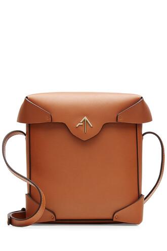 mini bag shoulder bag leather camel