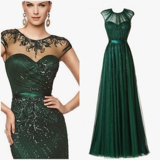 dress prom dress green dress maxi dress green dark green glitter glitter dress lace dress pattern prom prom gown high neck sparkly dress detailed beading