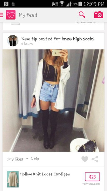 shorts denim shorts winter outfits