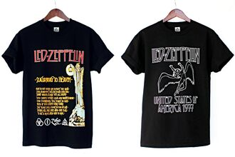 t-shirt led zeppelin band t-shirt 70s style 60s style stairway to heaven justvu.com hard rock heavy metal 80s style hipster blogger mens t-shirt american cool