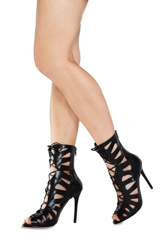 high heels shoes heels heel boots black heels lace up high heels boots
