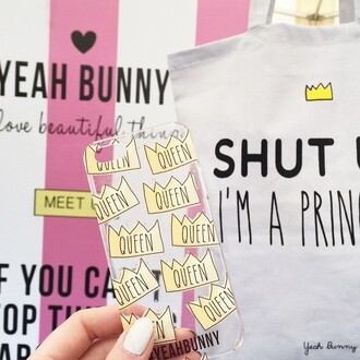 phone cover yeah bunny iphone queen girly