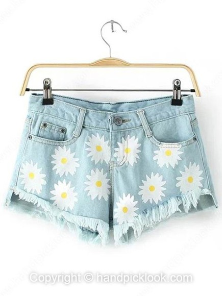 denim cutoff shorts light blue light wash light wash shorts light wash denim shorts daisy daisy shorts daisy short shorts daisies shorts daisy denim cut offs daisy denim shorts