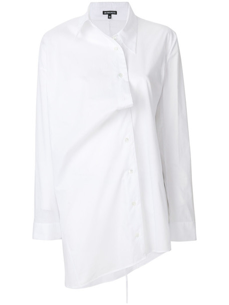 ANN DEMEULEMEESTER shirt women white cotton top