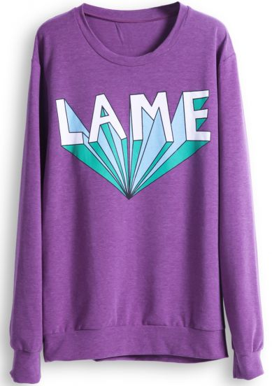 FREE Ship-Lame Sweatshirt  from Euphoria on Storenvy