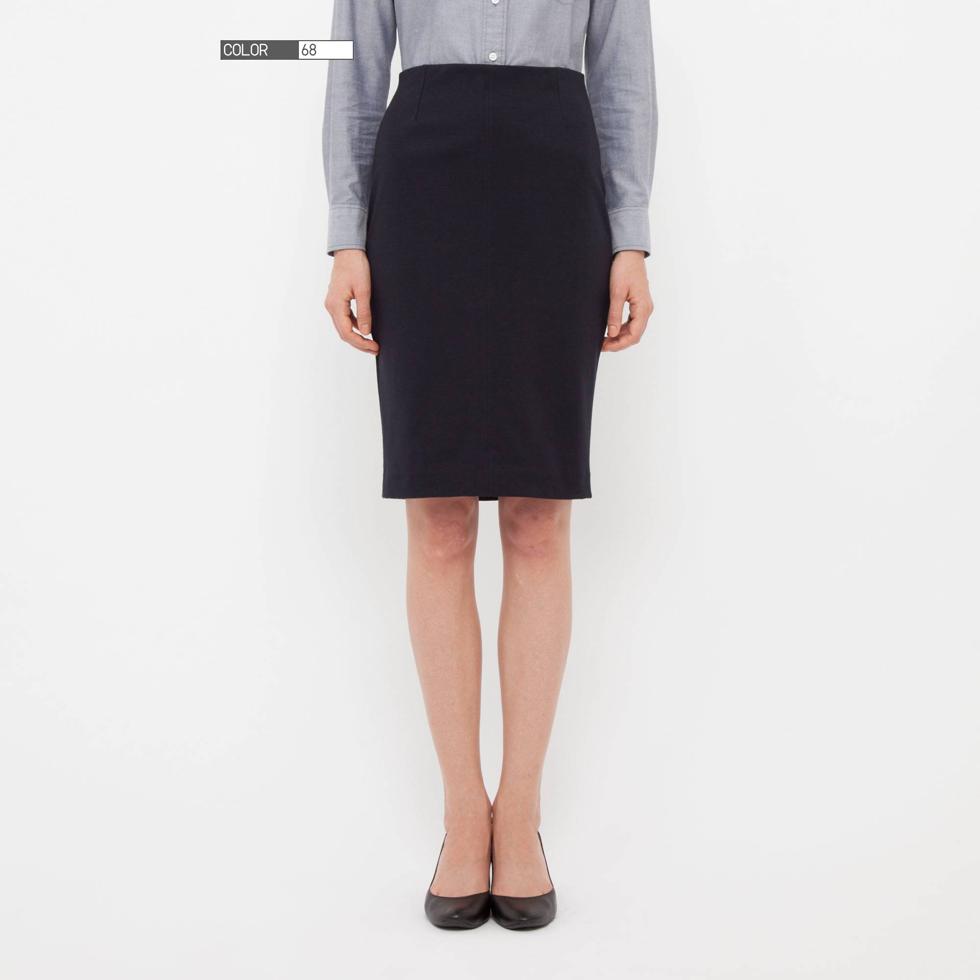 WOMEN PONTE PENCIL SKIRT | UNIQLO