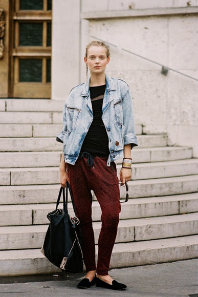 jacket denim jacket jeans jewels vanessa jackman