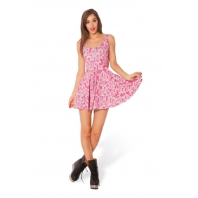 Fashion Adventure Time PRINCESS BUBBLEGUM SCOOP Skater Dress Clubwear [MD1231]- US$23.80 - intimates21