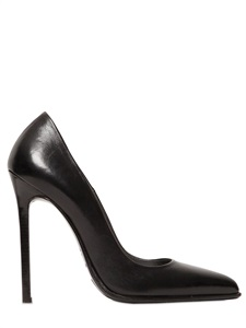 120mm nappa leather pumps