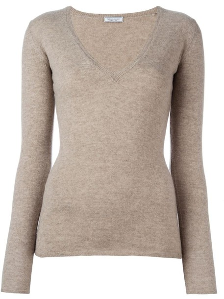 Fashion Clinic Timeless jumper women nude sweater
