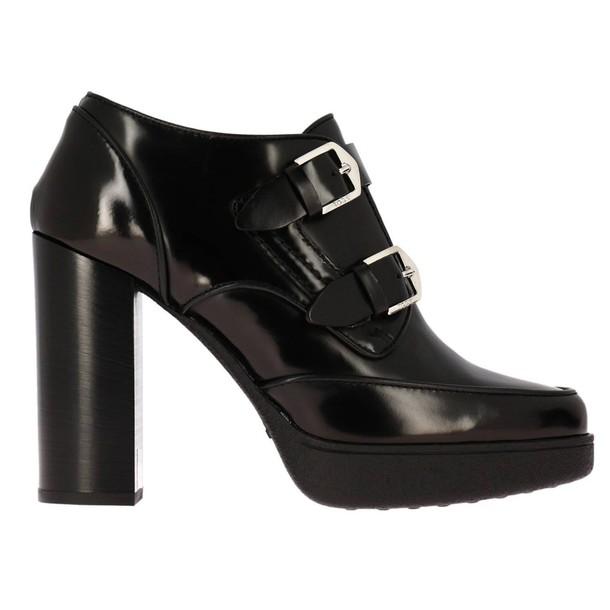 Tods women booties black shoes