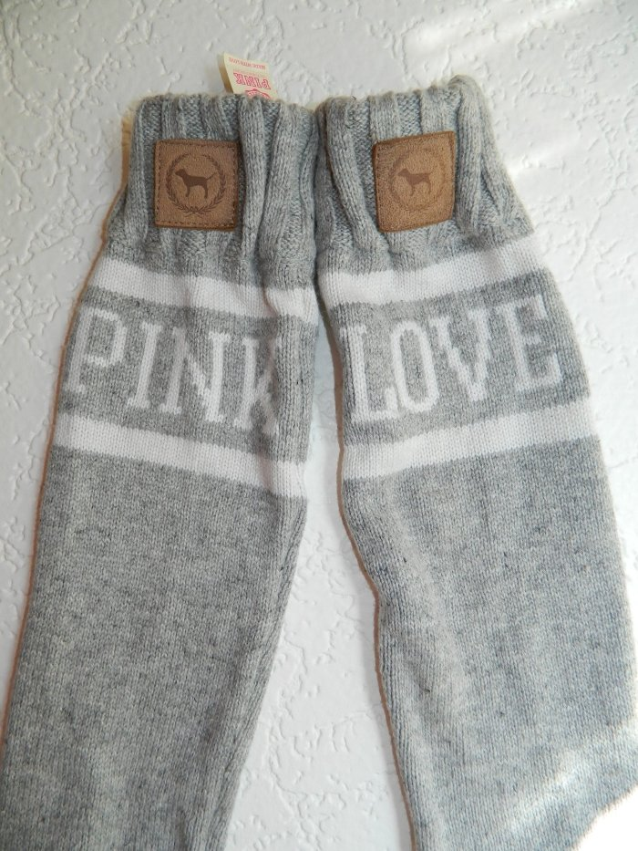 Victoria S Secret Love Pink Mukluk Slouchy Sweater Boots Best