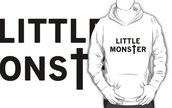 little monster,white,black,ladygaga,lady gaga,pull,sweater