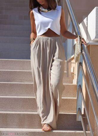 skirt maxi skirt maxi top
