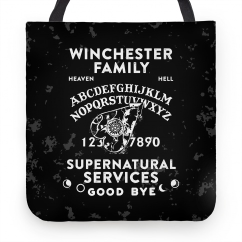 Winchester Family Ouija Board Tote | HUMAN