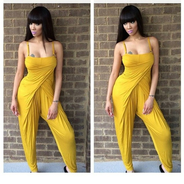 romper sexy mustard cute grown woman grown summer outfits style fashion gold sexy