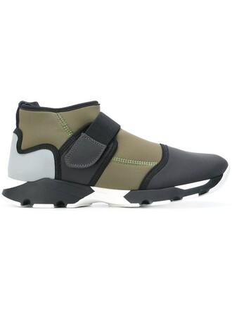sneakers neoprene grey shoes