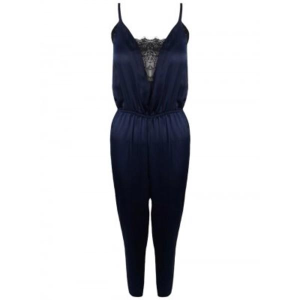 jumpsuit ladies jumpsuit in navy bluee