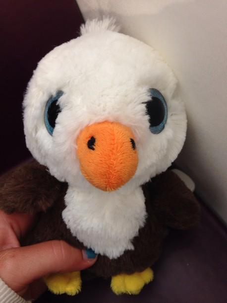 Home Accessory Cute Eagle Stuffed Animal Wheretoget