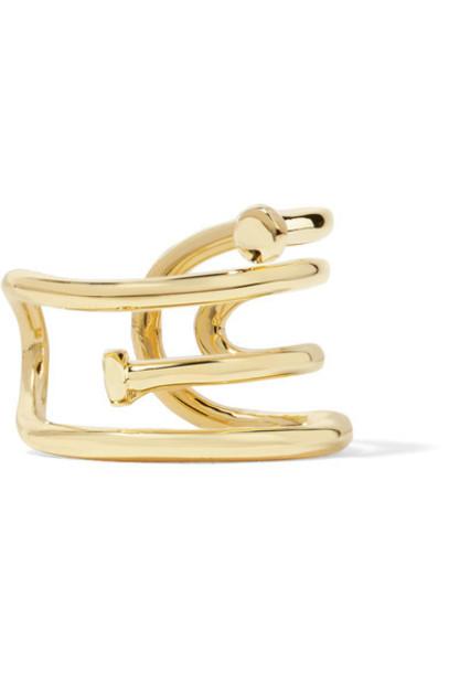 Jennifer Fisher ring gold jewels