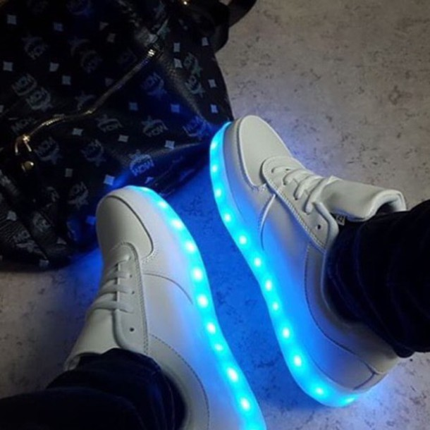 Shoes, Sneakers, Glow In The Dark, White Sweater, Hipster