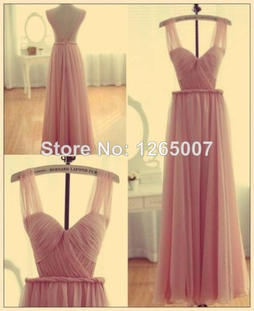 Aliexpress.com : Buy New Arrival V Neck Cap Sleeves Criss Cross Ruffles Open Back Nude Pink Tulle Fashion Sexy Prom Dress New Fashion Maxi Long Gown from Reliable gown long suppliers on SFBridal