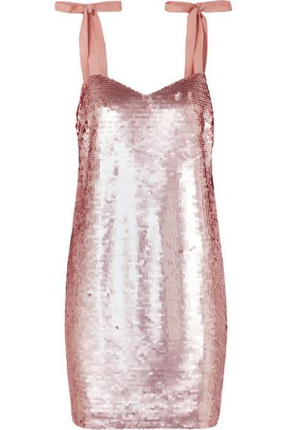 dress mini dress mini embellished pink
