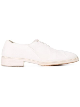 women classic shoes lace leather white
