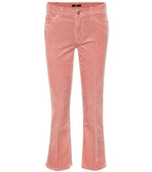 jeans,cropped,pink