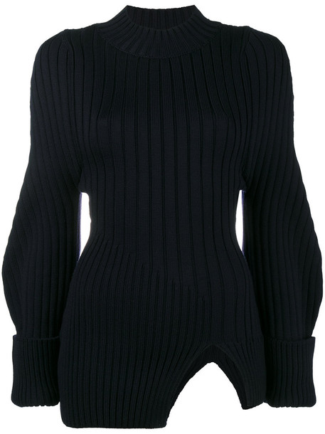 Jacquemus sweater women blue wool