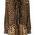 Saint Laurent - leopard print neck tie dress - women - Silk - 46, Black, Silk